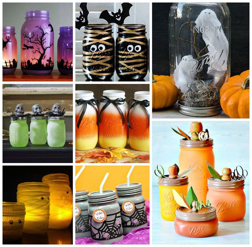 21 Spooktacular Ways To Use Mason Jars For Halloween