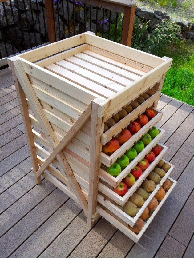 34 DIY Projects You Need To Make This Spring10 - DIY Food Storage Shelf