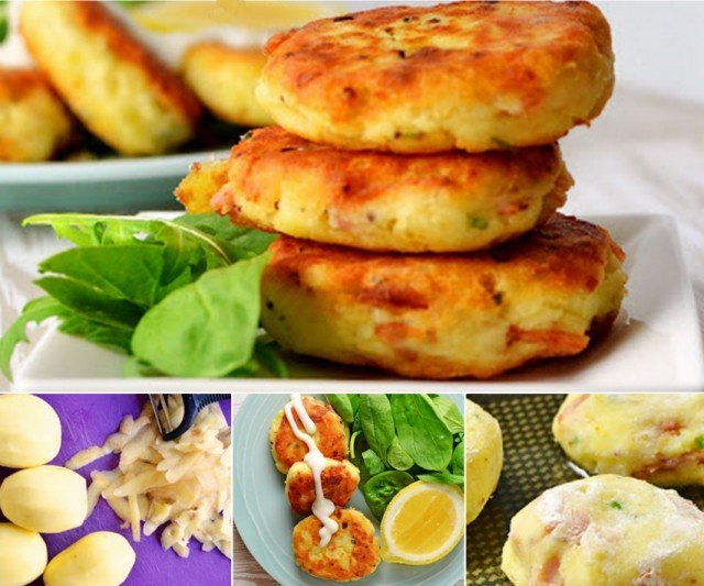 How to DIY Delicious Bacon & Potato Patties