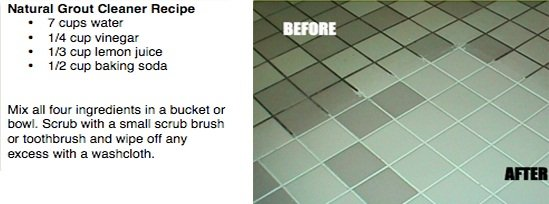 Clean Grout Lines Using Chemical-Free Products1
