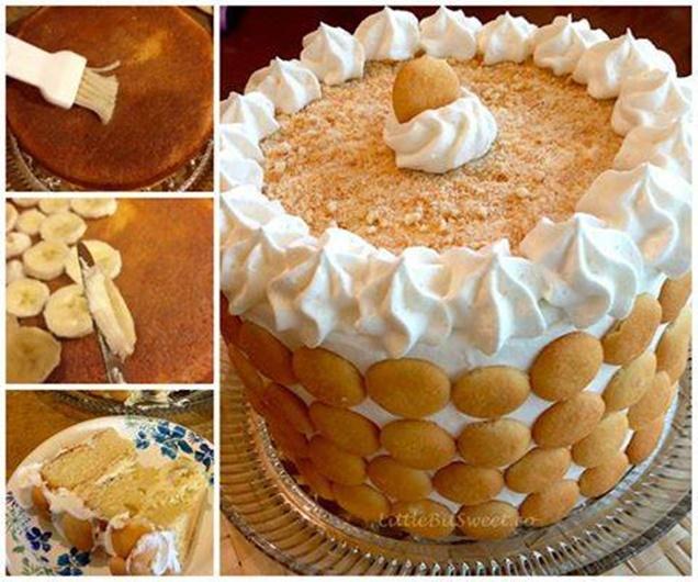 Smart School House Banana Pudding Cake Recipe