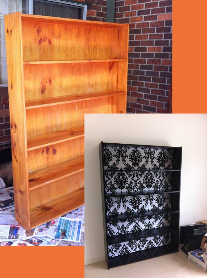 DIY Bookcase Renovation