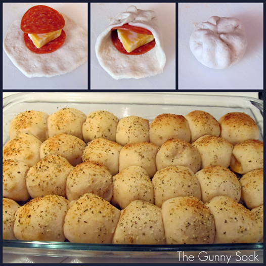 How to DIY Easy Pepperoni Pizza Balls