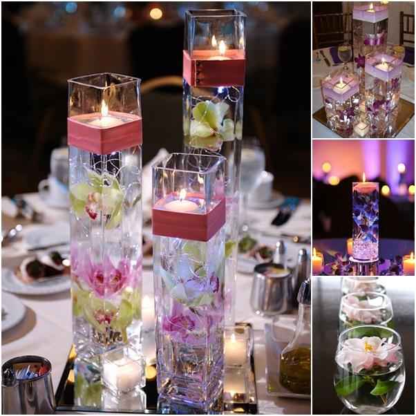 Diy Floating Candle Centerpiece Ideas
