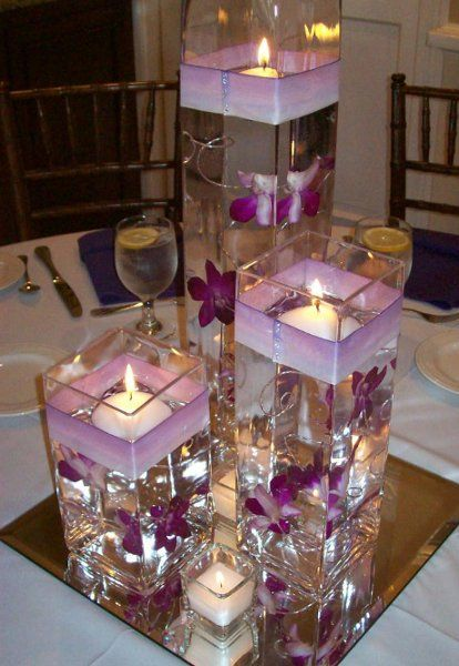 DIY Floating Candle Centerpiece Ideas