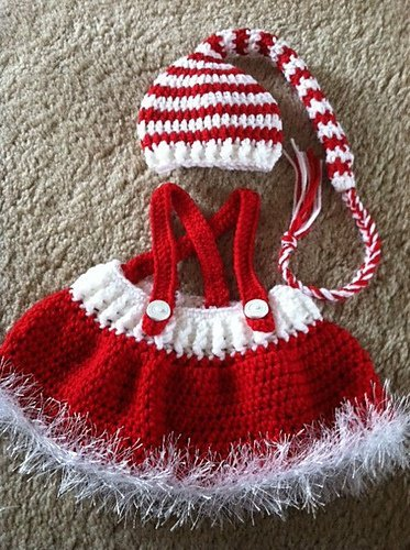 20 Crochet Baby Christmas Sets Free Pattern