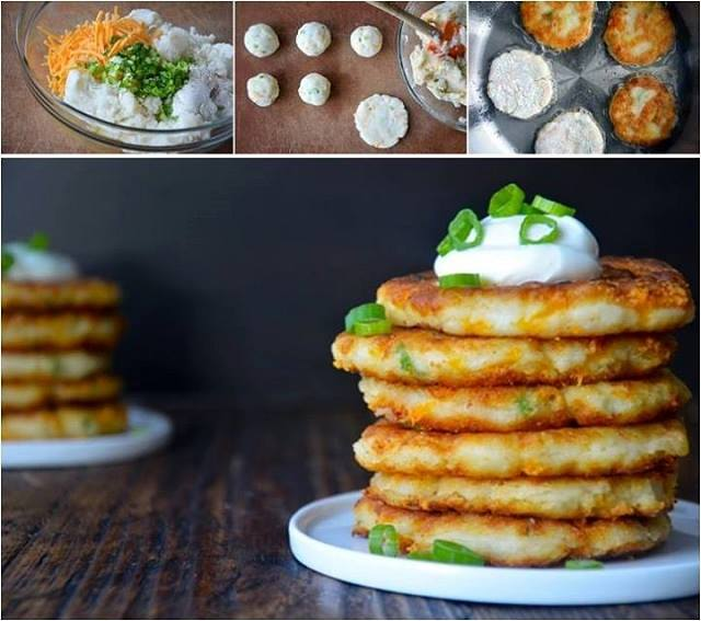 How to Make Mashed Potato Pancakes
