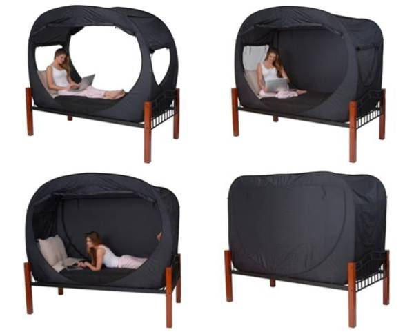 Fab Design On Privacy Pop Bed Tent