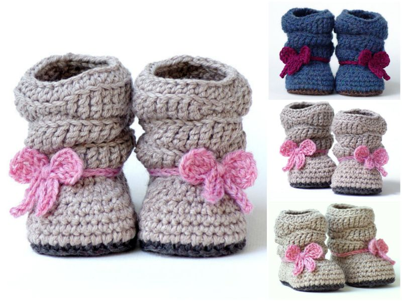 How to DIY Pretty Crochet Mia Slouch Boots