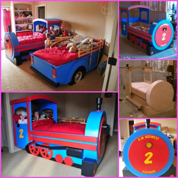 DIY Train Bed Tutorial