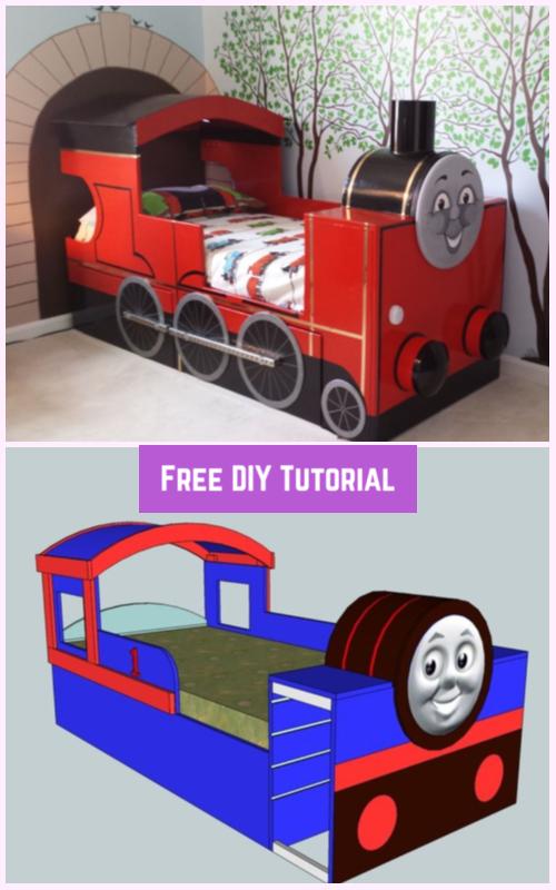 DIY KidsThomas Tank Bed Tutorial