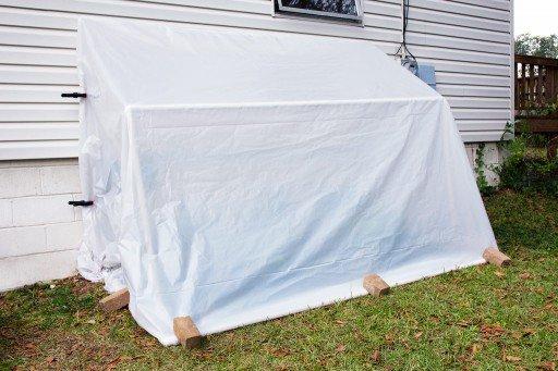 fold down convertible green house