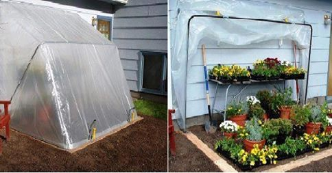 Fold Down Green House