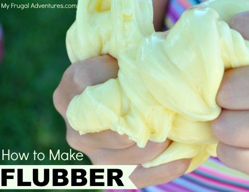 How to make homemade fubber for kids fun