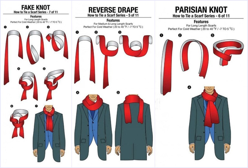 How to tie scarf for men in 11 different ways how to tie a scarf01 how to tie a scarf02 ccuart Choice Image