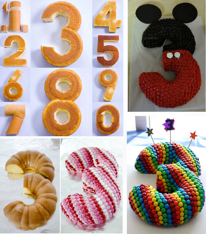 How To Diy Special Number Cake Fab Art Diy