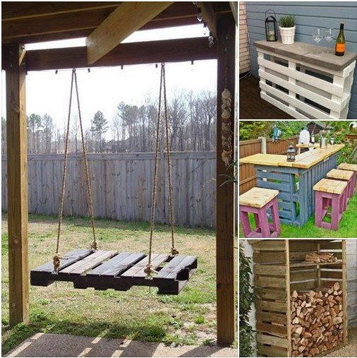 pallet ideas for the garden