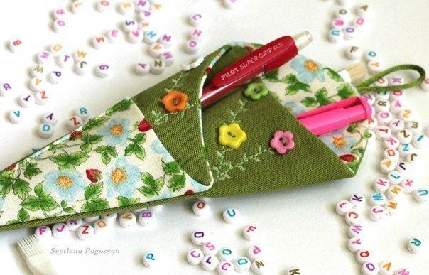 Diy Quilt Scissor Case Free Sewing Pattern Template