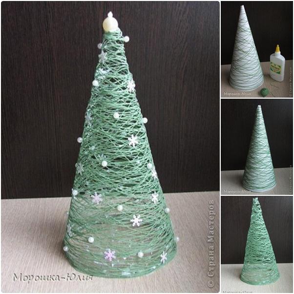 thread christmas tree