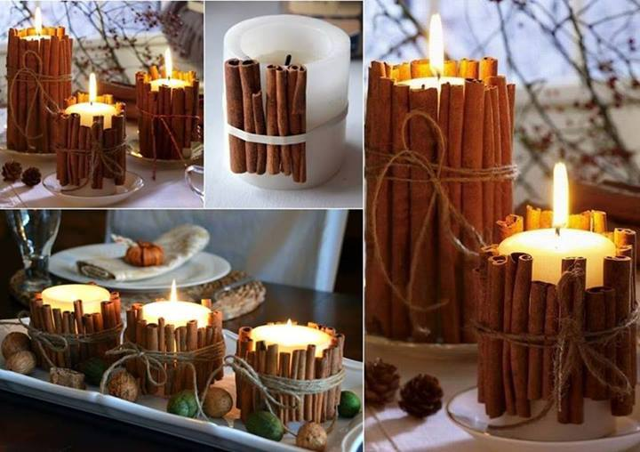 10 Beautiful Holiday Candle Ideas