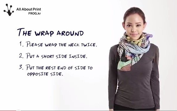 10 easy ways to wear a scarf