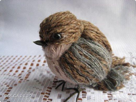 How to DIY Cute Yarn Birdie tutorial and video instruction