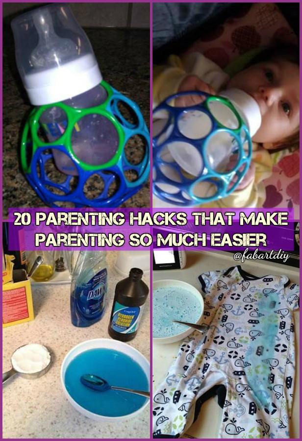 20 Parenting Hacks That Make Parenting Job Easier