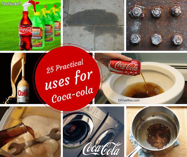 25 Alternative Practical Uses of Coca-Cola that Everyone Should Try