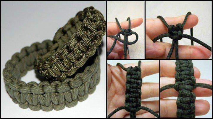 How To DIY Paracord Survival Bracelet Tutorial Impressive Paracord Bracelet Patterns
