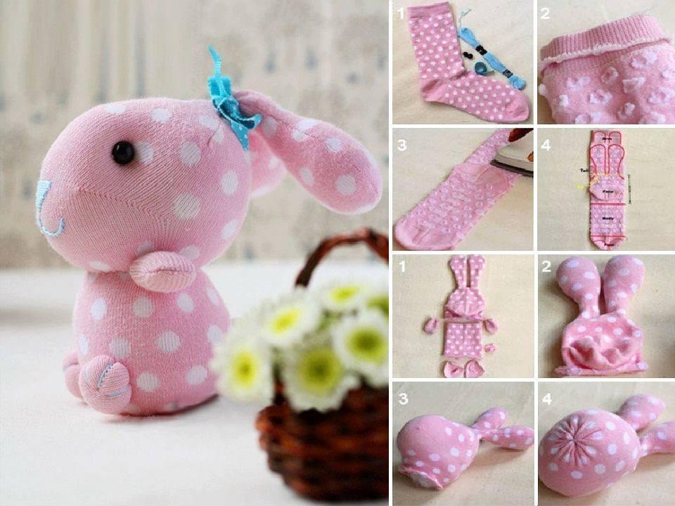 How To Diy Cute Sock Bunny