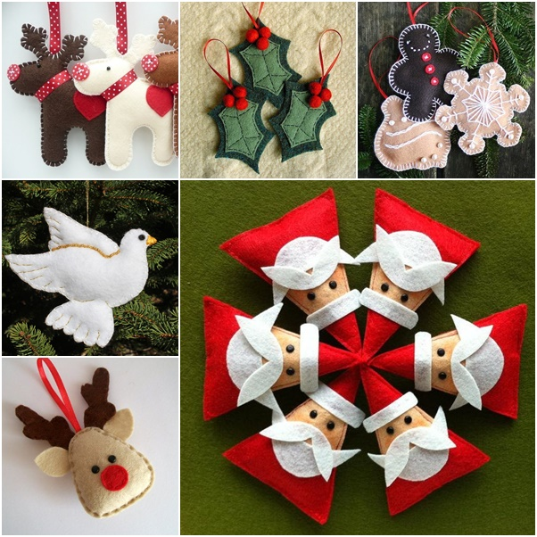 Diy felt christmas ornament pattern and template diy felt christmas ornament from template solutioingenieria Choice Image