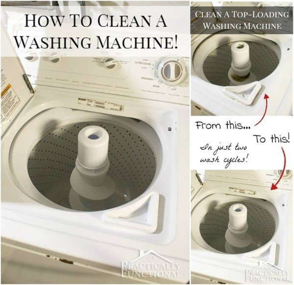 how to clean machine