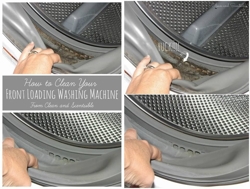best way to clean a front loading washing machine