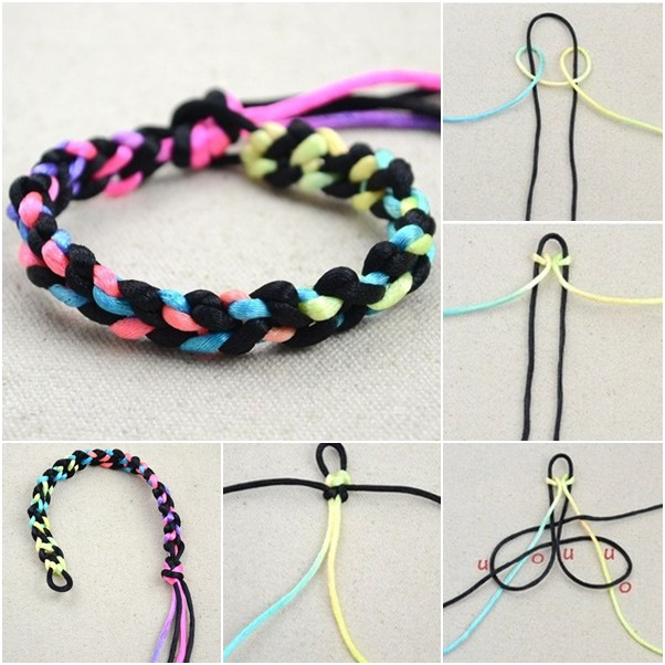 Awesome Necklace Ideas Home Remodel 24 Easy Diy From It: How To DIY Simple Two String Bracelet