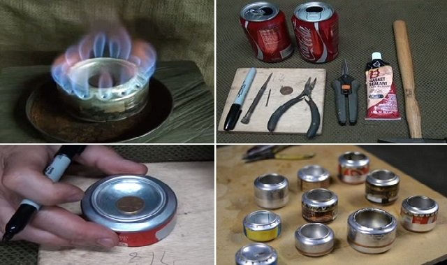 How to DIY Can Stove for Hiking and Camping