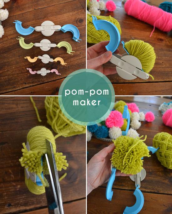 How to Make Your Pom Pom with Hands Easily with Pom Pom Maker