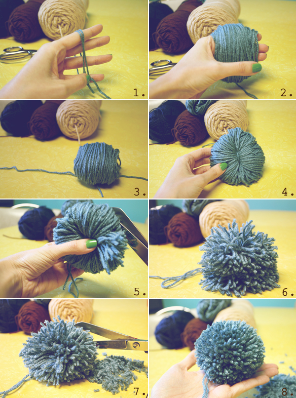 How to Make Your Pom Pom with Hands Easily