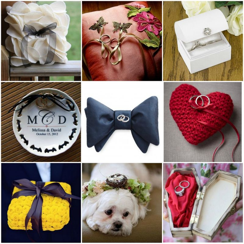 Wedding Ring Bearer Design