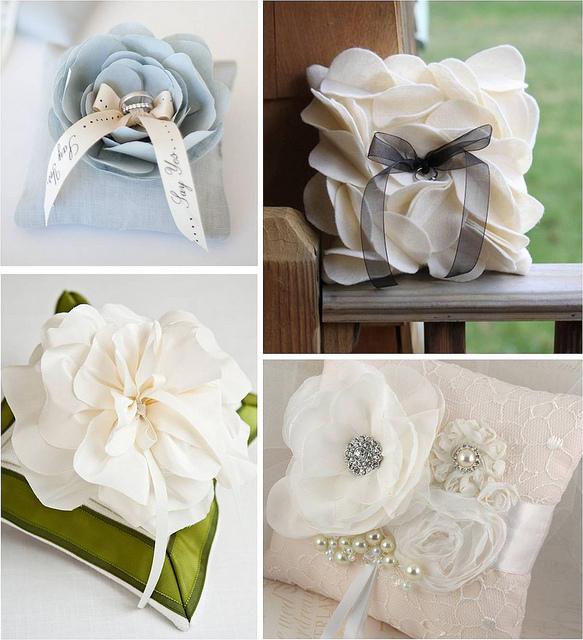 Make A Wedding Ring Cushion