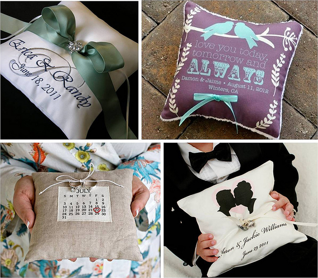 How to DIY Wedding Ring Pillow Bearer