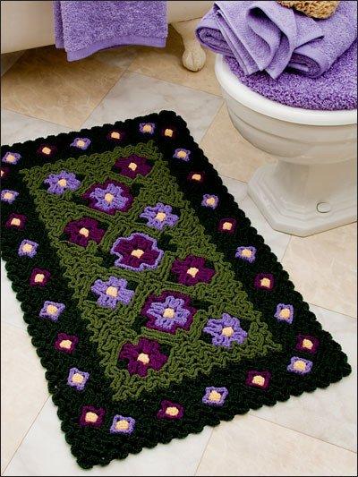 Wiggly Crochet Rug15