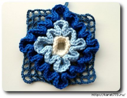 Wiggly Crochet Rug7