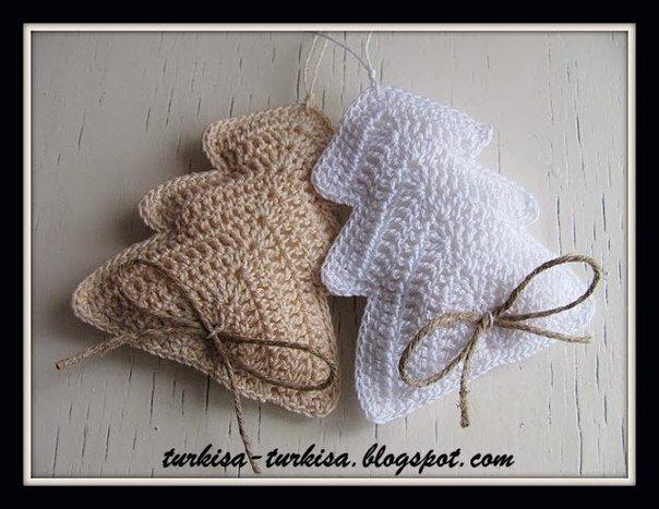 10 lavori a maglia e crochet per natale for Adornos navidenos tejidos a crochet 2016