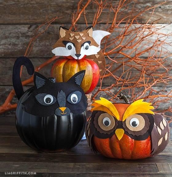 decorative prumkin for Halloween1