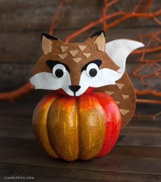 decorative prumkin for Halloween3