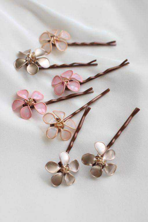 nail polish flower jewelry4