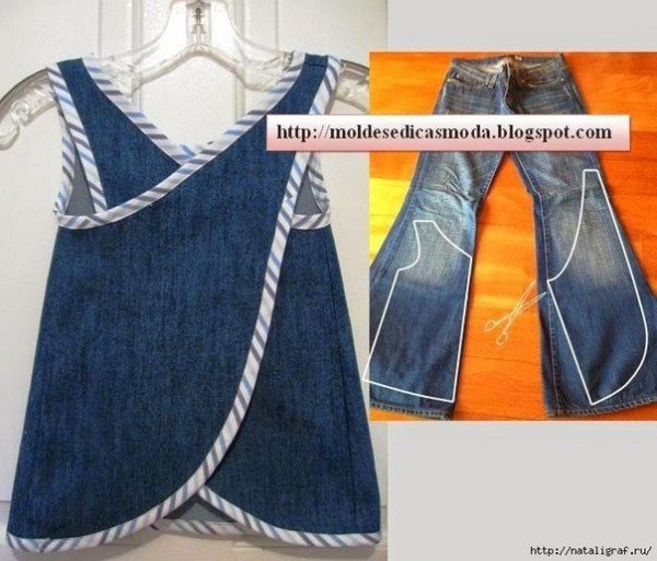 Top DIY Ideas to Refashion Old Jeans into New Top