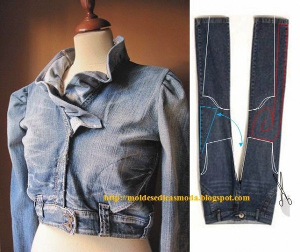 Top DIY Ideas to Refashion Old Jeans into New Jacket