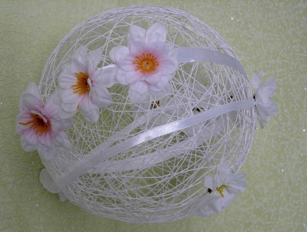 yarn string thread ball for Valentines day6