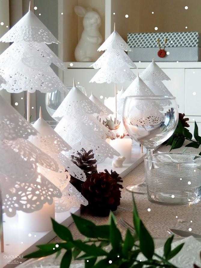 DIY Paper Doily Christmas Tree Tutorial